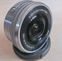 Sony SEL16-50mm/f/3.5-5.6 OSS ---------Sony SEL20mm/F2.8
