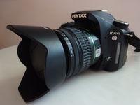 Нов Pentax K100D + 18-55 мм обектив