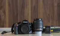 Nikon d3200 обектив 18-55mm 1:3.5-5.6G VR AF-S DX NIKKOR