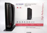 Двубандов рутер Netgear N600 WNDR3700 WiFi Dual Band Gigabit