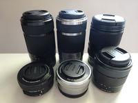 Обективи Sony E 16-50, 18-55, 55-210, 18-200 мм