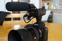 Sony XLR-K2M + Sony ECM-XM1 Shotgun Microphone