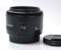 Обектив Canon EF 50mm 1.8 II