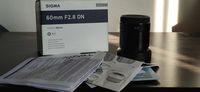 Sigma 60mm f/2.8 DN Art for Sony E