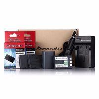 NB-2L комплект 2 батерии и зарядно за Canon 350D,400D,PowerShot