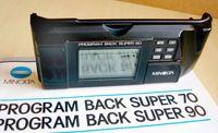 NEW Minolta Program Back Super 90
