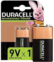 Презареждаема 9V батерия Duracell