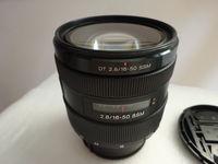 Обектив Sony DT 16-50mm f/2.8 SSM (SAL1650) – F 2.8 по цялата дължина.