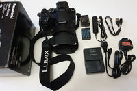 Panasonic Lumix FZ2000 20MP 20x Leica, 2 батерии + батерия-адаптер, външен shutter