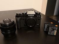 Фотоапарат Fujifilm X-T2 + Обектив Fujinon XF 35mm f/1.4 R