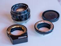Fotodiox pro+Minolta rokkor 58mm f 1.4
