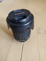 Canon EF-S 18-135mm 3.5-5.6 STM и поляризационен филтър B + W 67mm