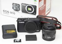 Canon EOS М10 тяло + EF-M 15-45STM+++