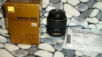 Обектив NIKON AF-S DX 18-55mm1:3.5-5.6 G ED ii