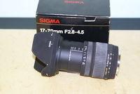 SIGMA  AF-17 - 70 F 2.8-4.5 Macro DC