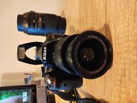 Фотоапарат (тяло) Nikon D3300 + обективи