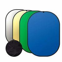 150см х 200см сгъваем фон + рефлектор / 4 повърхности  в 1 / и калъф за пренасяне