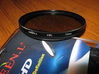 CPL филтър 72mm GREEN.L