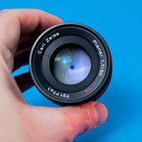 Contax Carl Zeiss Planar 50mm 1,7 Canon EF байонет