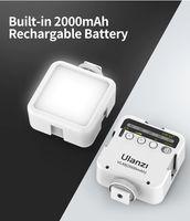 Компактен фенер с литиева батерия Ulanzi VL49 бял цвят
