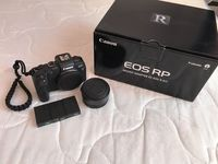 Canon EOS RP тяло + Адаптер Canon EF-EOS R + 3бр. Батерии+ 1г гаранция