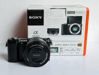 Sony A5000 с 16-50 обектив