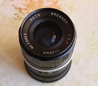 Auto Brenner M42 35mm f/3.5 lens