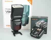 Светкавица GODOX V860IIS + радиопредавател - X1TS