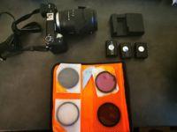 Sony NEX 6 + Sony SEL 18-135 + Samyang 8mm f/2.8 + Samyang 12mm f/2