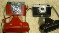 Лентови фотоапарати Смяна 6 и Ломо от СССР