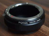 Преходник Nikon F -> M4/3