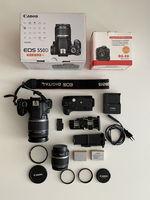 Canon 550D + CANON EFS 18-200mm  + CANON EFS 18-55mm