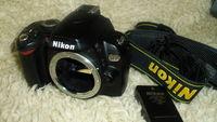Фотоапарат DSLR Nikon D60 - тяло