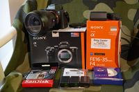 Sony A7МII +  Sony 16-35F/4 ZA OSS + 32GB SanDisk Extreme Pro SDHC UHS-I