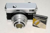 Rangefinder camera Werra 3 (black) w. CZJena Tessar 2.8/50mm