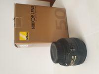 Продавам използван Nikon Nikon AF-S Nikkor 50mm f/1.8G.