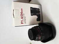 Продавам използван Samyang 24mm f/1.4 ED AS IF UMC - Nikon F (AE).