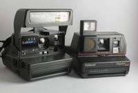 Polaroid 636 Close Up и Polaroid Impulse AF тествани Polaroid 600 film