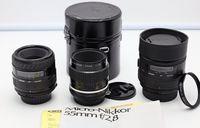 Три макро обектива за Nikon