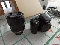 Nikon D5300 + Nikkor 18 -140mm