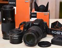 SONY A 58 - комплект