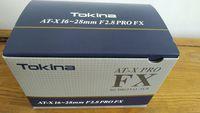 Обектив Tokina AT-X 16-28mm  F2.8 PRO FX