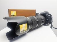 Продавам NIKON D750 с обектив AF-S Nikkor 80-200/2.8D IF-ED