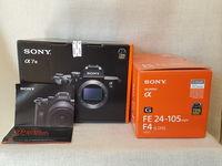 Sony A7III + Sony FE 24-105 /4 G OSS  - чисто нови !