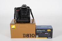 Nikon D810 + Grip + CF Card 32GB