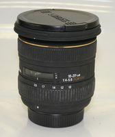 Обектив Sigma 10-20mm f/4-5.6 EX DC HSM за Nikon