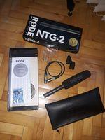 Продавам микрофон Rode NTG2