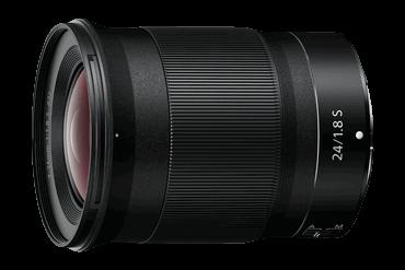 Nikon разширява гамата си от фиксирани обективи с Nikkor Z 24mm f/1.8 S