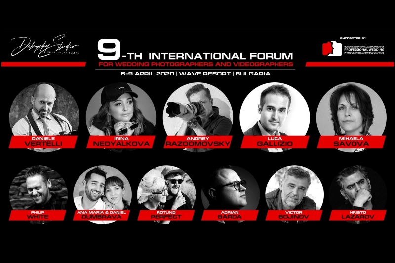 9-th International Forum Wedding Photographers and Videographers
