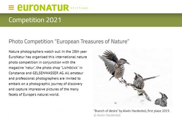 """European Treasures of Nature"" - фото конкурс на EuroNatur"